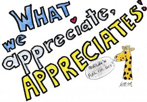 What we appreciate