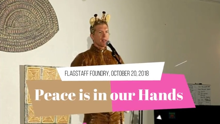 Peace is in our Hands (Performed on October 20, 2018)